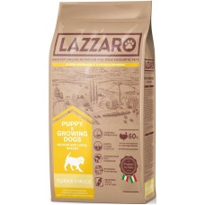 LAZZARO Puppy s / c for puppies of medium and large breeds Turkey with rice