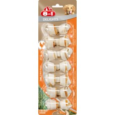 8in1 DELIGHTS XS bone for small dogs 7x7.5 cm