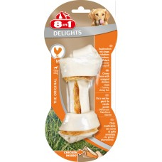 8in1 DELIGHTS M bone with chicken for medium and large dogs 14.5 cm
