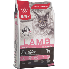 Blitz For Adult Cats Lamb