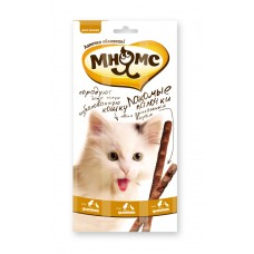 Mnams  13.5 cm tidbits for cats with chicken and duck 3x5 g