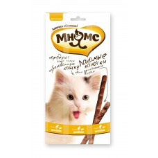 Mnams  sticks 13.5 cm for cats with chicken and liver 3x5 g