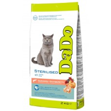 Dado dry food for sterilized cats with shrimps