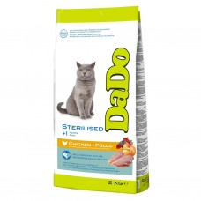 Dado dry food for sterilized cats with chicken
