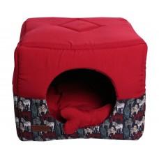 58/5000 Lodge lion Lion Cube LM4030-036 Size M (45х45х45 cm)