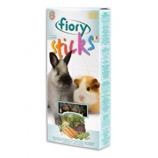 FIORY sticks for rabbits and guinea pigs Sticks with vegetables 2x50 g