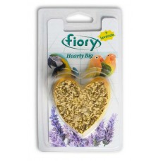 FIORY bio-stone for birds Hearty Big with lavender in the shape of a heart 100 g