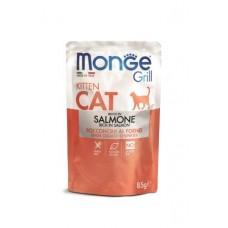 Monge Cat Grill Pouch spiders for kittens Norwegian salmon 85 g