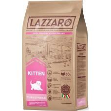 LAZZARO Kitten s / c for kittens, pregnant and lactating cats Turkey Turkey rice